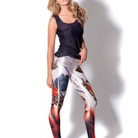 Winter Pants Stretch Slim Korean Stylish Print Leggings [6049164225]
