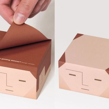 Fancy - Balding Sticky Notes