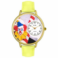 Clown Face Watch in Gold (Large)