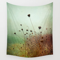 A Dense Fog Surrounded Her Wall Tapestry by Olivia Joy StClaire