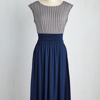 Close Colleague Dress in Navy | Mod Retro Vintage Dresses | ModCloth.com