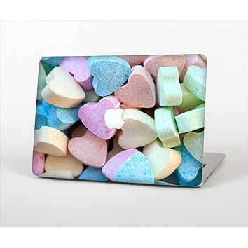 """The Multicolored Candy Hearts Skin Set for the Apple MacBook Pro 13""""   (A1278)"""