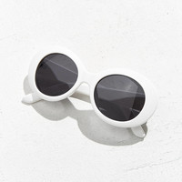 Plastic Oval Sunglasses | Urban Outfitters
