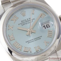 Rolex Oyster Datejust Lady Platin 26mm Platinum Automatik 179166 VP: 35360,- €