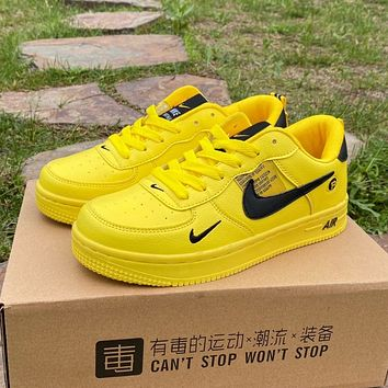 Nike Air Force 1 couple casual men and women low-top sneakers shoes