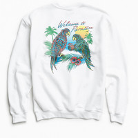 Welcome To Paradise Crew Neck Sweatshirt | Urban Outfitters