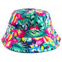 Kauai Bucket Hat in Hawaiian Floral
