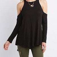 Cold Shoulder Swing Tunic