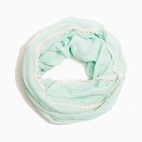 ShopSosie Style : Kendall Infinity Scarf in Mint