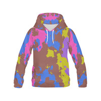 Retro texture All Over Print Hoodie for Men (USA Size) (Model H13) | ID: D1438720