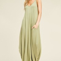 The Mila Maxi Dress - Summer Sage