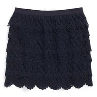 Toddler Girl's Ralph Lauren Lace Skirt