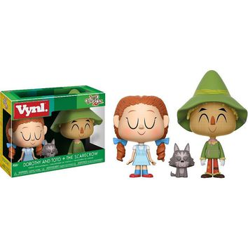 Dorothy Toto & Scarecrow Funko VYNL Figure 2-Pack