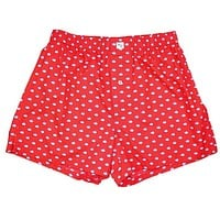 Skipjack Boxers in Channel Marker Red by Southern Tide