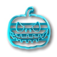 Halloween Scary Pumpkin cookie cutter