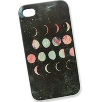 Eclipse Of The Moon Frosted Phone Case For iPhone 4/4s