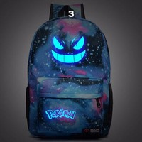 Gengar Luminous Backpack Collection (12 Colors)