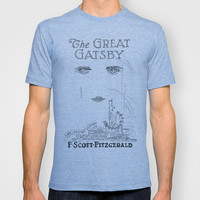 The Great Gatsby T-shirt by S. L. Fina