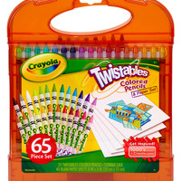 Crayola Twistables Colored Pencils and Paper Set