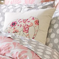 Deco Elephant Pillow Cover
