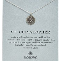 Women's Dogeared 'St. Christopher' Pendant Necklace