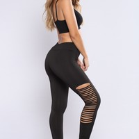 Daina Active Leggings - Black