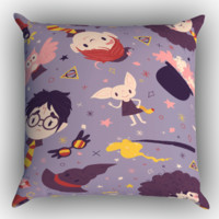 Harry Potter PATTERN Y1382 Zippered Pillows  Covers 16x16, 18x18, 20x20 Inches