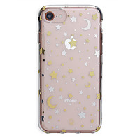 Starry Night Clear iPhone Case