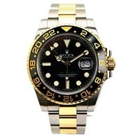 Rolex Oyster Perpetual GMT Master II automatic-self-wind mens Watch 116713 (Certified Pre-owned)