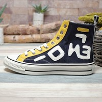 Fendi x Converse Chuck Taylor 1970s All Star Hi Top Black - Best Deal Online