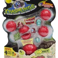 Crashlings, Series 1 Mini Figures, Insects - 10 Pack - Random Selection