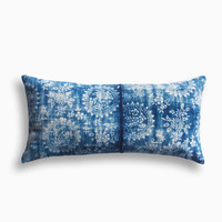 Vintage Indigo Fortune Pillow
