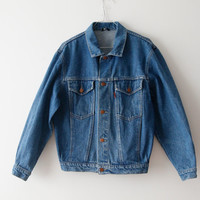 Vintage Small Denim Jacket Small Men Denim Jacket 90's Denim Jacket Hipster Denim Jacket Jeans Jacket Blue Jacket Small Size Jacket