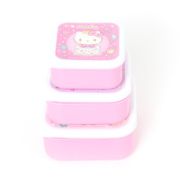 Hello Kitty 3 piece Lunch Container Set: Sweet Princess