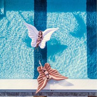 98inch Giant Angel Wing Inflatable Pool Float
