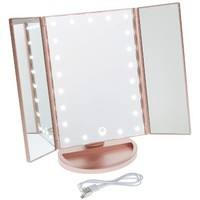 Impressions Vanity Co. Touch 3.0 LED Trifold Makeup Mirror | Nordstrom