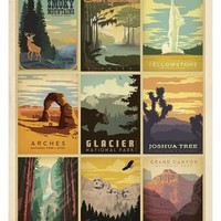 National Parks: The Art & Soul Of America Posters by Anderson Design Group at AllPosters.com