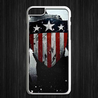 Captain America Paint for iPhone 4/4s/5/5s/5c/6/6+, iPod, Samsung Galaxy S3/S4/S5/S6, HTC One, Nexus *ST*