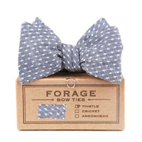 I liked this design on #Fab. Polka Dot Bow Tie Blue