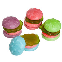SpongeBob Gummy Krabby Patties Candy Packs - Colors: 36-Piece Box