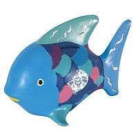 Rainbow Fish Coin Savings Bank in Bright Tropical Colors