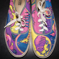 Psychedelic Hippie Shoes