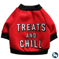 BarkTek Treats And Chill Dog And Puppy Sweater