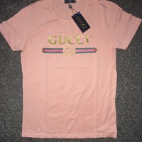 Mens Gucci T Shirt peach medium