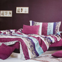 Love in the Rhine Luxury 5PC Comforter Set Combo 300GSM in Queen Size