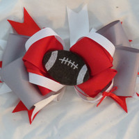Ohio State Football Boutique Hairbow