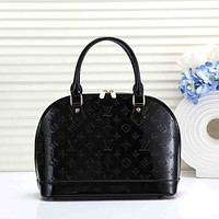 LV Louis Vuitton Women Leather Shoulder Bag Shopping Satchel Tote Bag Handbag