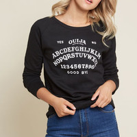 Spell Me About It Graphic Sweatshirt