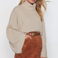 Call Knit a Day Oversized Sweater