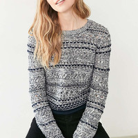 Cooperative Multi-Stitch Pullover Sweater - Urban Outfitters